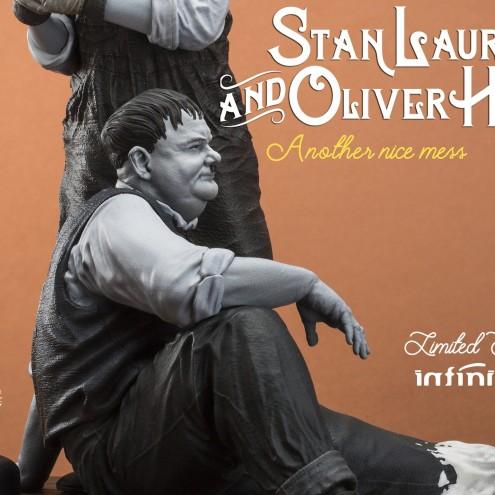 "Statua di Laurel & Hardy ""Another nice mess"" - 11"
