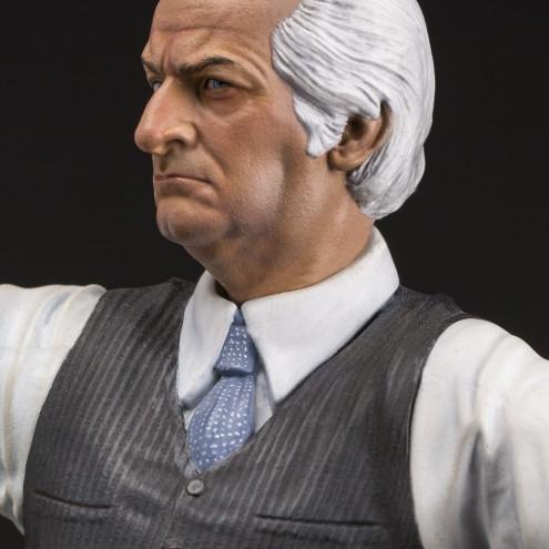 Louis De Funès is Stanislas Lefortresin statue hand-painted - 1