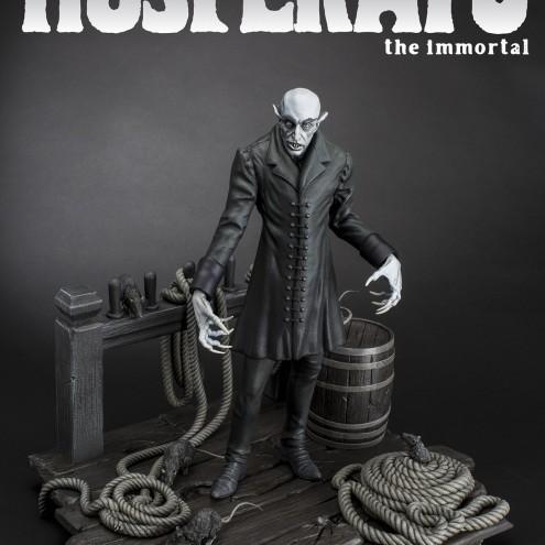 The coming of Nosferatustatua in formato 1:4 con diorama - 15