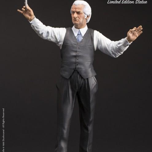 Louis De Funès is Stanislas Lefortresin statue hand-painted - 2