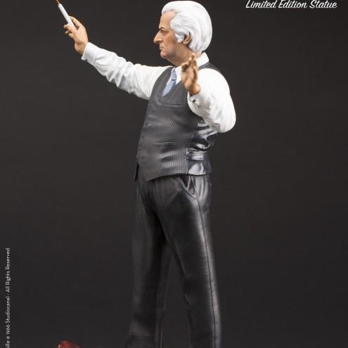 Louis De Funès is Stanislas Lefortresin statue hand-painted - 3