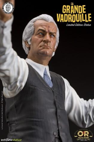 Louis De Funès is Stanislas Lefortresin statue hand-painted - 6