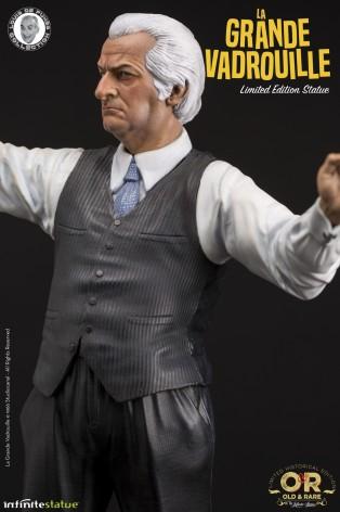 Louis De Funès è Stanislas Lefortstatua in resina - 7