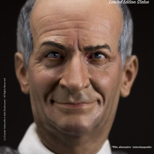Louis De Funès is Stanislas Lefortresin statue hand-painted - 11
