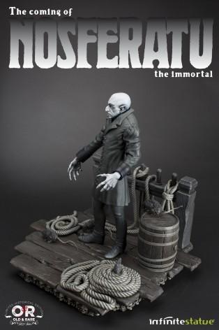 The coming of Nosferatustatua in formato 1:4 con diorama - 16
