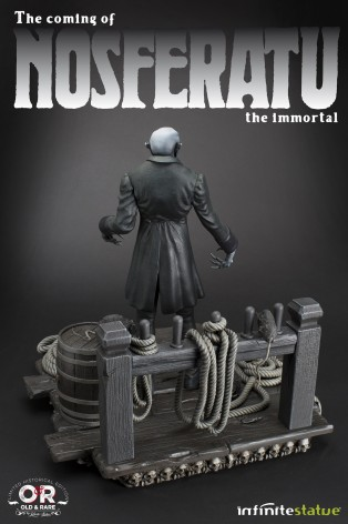 The coming of Nosferatustatua in formato 1:4 con diorama - 17