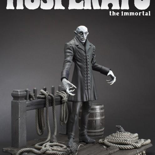 The coming of Nosferatustatua in formato 1:4 con diorama - 19