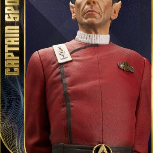 Leonard Nimoy nei panni celebre Capitano Spock - statua - 2