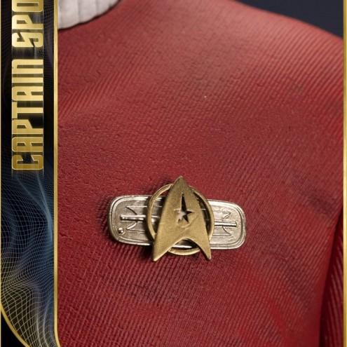 Leonard Nimoy nei panni celebre Capitano Spock - statua-3