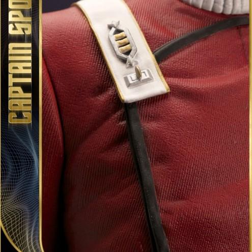 Leonard Nimoy nei panni celebre Capitano Spock - statua-5