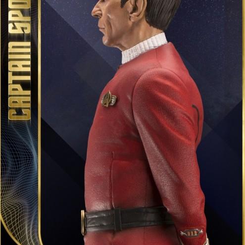 Leonard Nimoy nei panni celebre Capitano Spock - statua-6