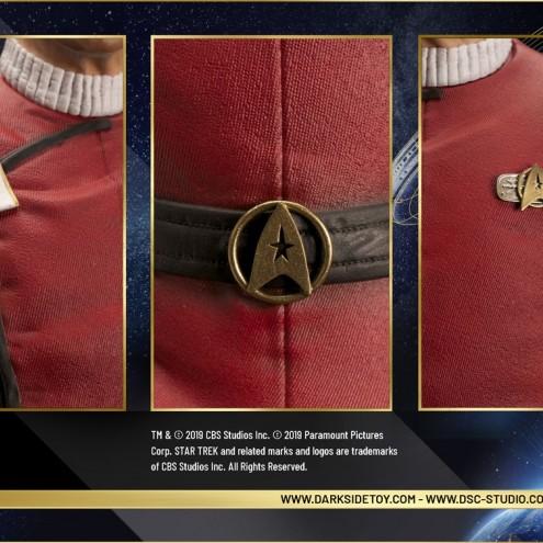 Leonard Nimoy nei panni celebre Capitano Spock - statua-9