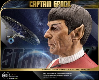 1:3 Museum Quality statue of Leonard Nimoy as Captain Spock - 10