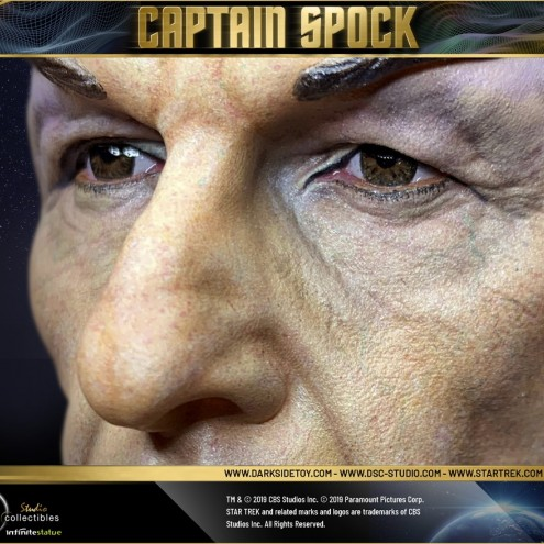 1:3 Museum Quality statue of Leonard Nimoy as Captain Spock - 11