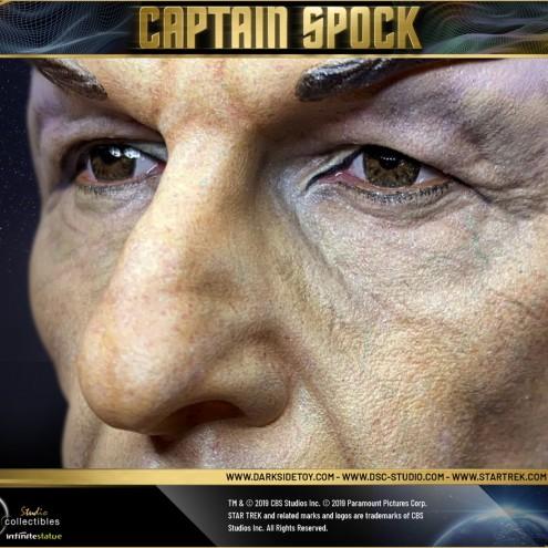 Leonard Nimoy nei panni celebre Capitano Spock - statua-11