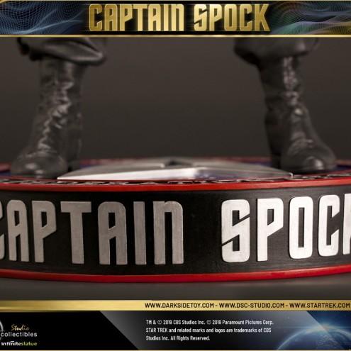 Leonard Nimoy nei panni celebre Capitano Spock - statua-14