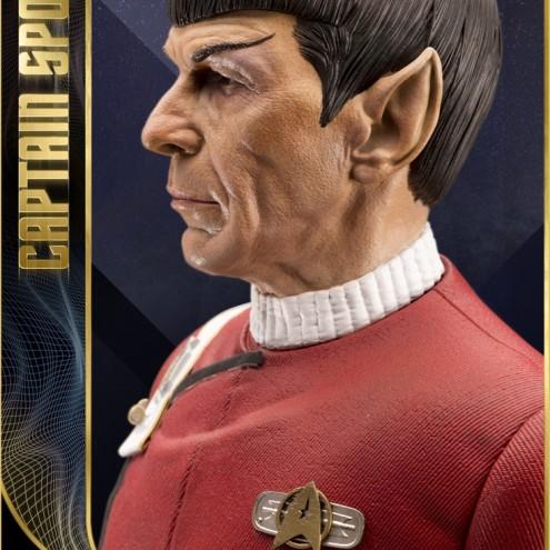 Leonard Nimoy nei panni celebre Capitano Spock - statua-16
