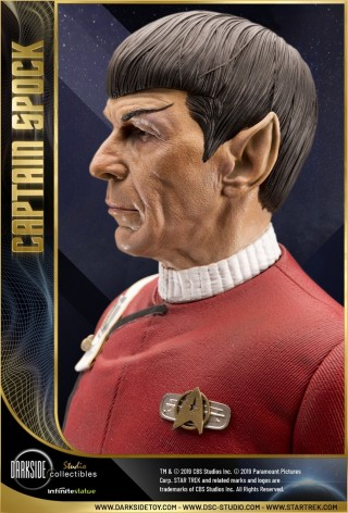 1:3 Museum Quality statue of Leonard Nimoy as Captain Spock - 16
