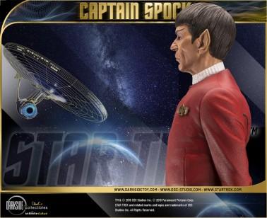 Leonard Nimoy nei panni celebre Capitano Spock - statua-17