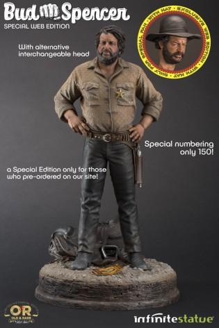 Statua in resina scala 1:6 di Bud Spencer + Testaaggiuntiva