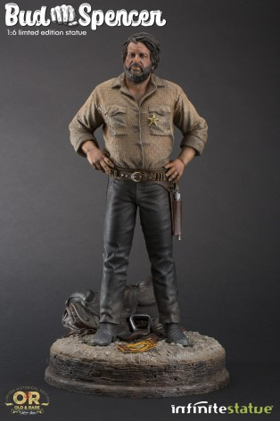 Statua in resina scala 1:6 di Bud Spencer - 2