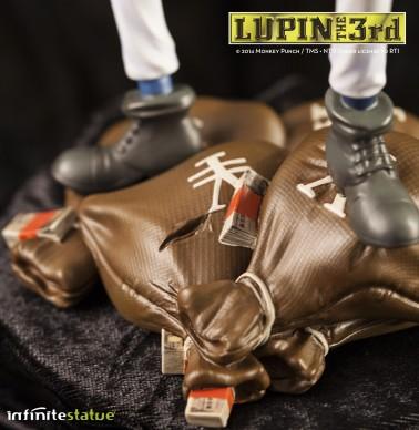 Statua Edizione Limitata Lupin III in resina dipinta a mano - 6
