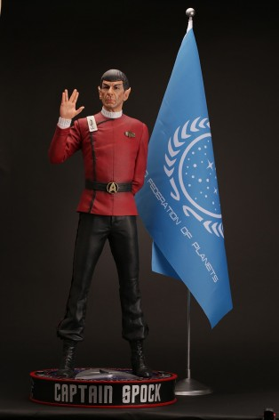 Leonard Nimoy as Captain Spock 1/3 scale museum statue - 1
