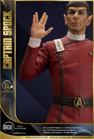 Leonard Nimoy as Captain Spock 1/3 scale museum statue - 2
