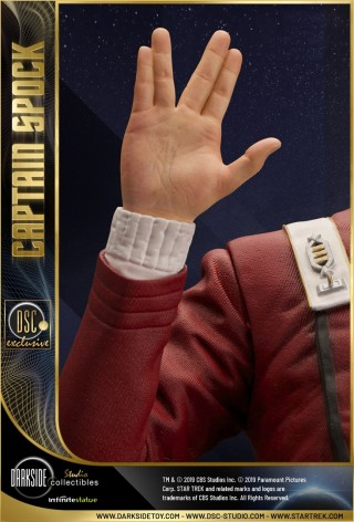 Leonard Nimoy as Captain Spock 1/3 scale museum statue - 3