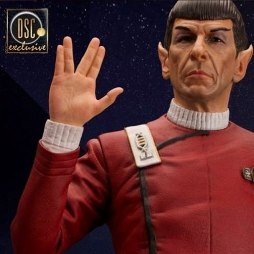 Leonard Nimoy as Captain Spock 1/3 scale museum statue - 4