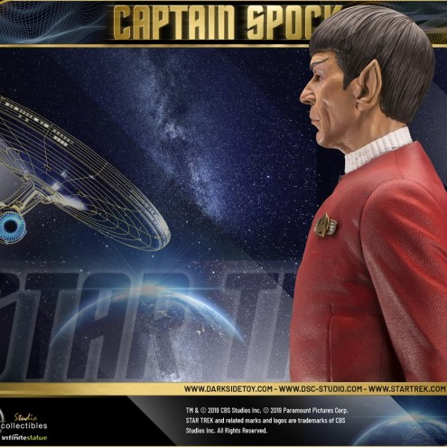 Leonard Nimoy as Captain Spock 1/3 scale museum statue - 11