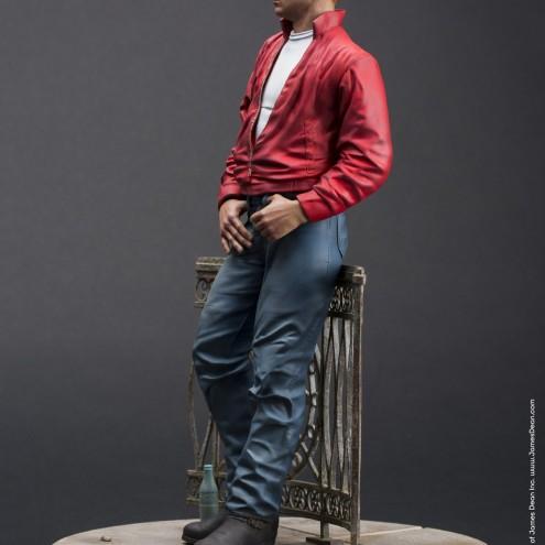 Straordinaria statua in resina James Dean - 2