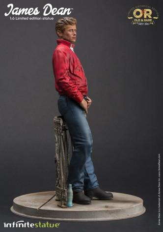 Straordinaria statua in resina James Dean - 3