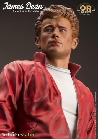 Straordinaria statua in resina James Dean - 7