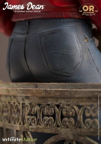 Straordinaria statua in resina James Dean - 8