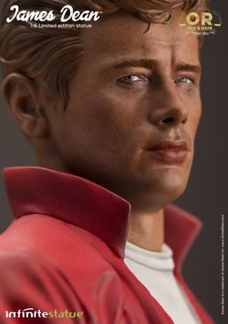 Straordinaria statua in resina James Dean - 11