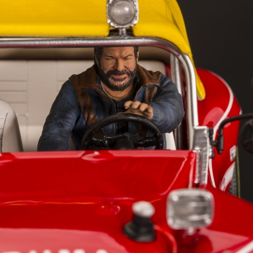Bud Spencer on Dune Buggy 1:18 riproduzione in resina - 1