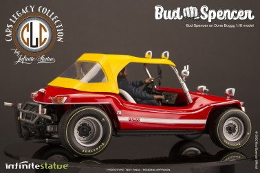 Bud Spencer on Dune Buggy 1:18 riproduzione in resina - 4