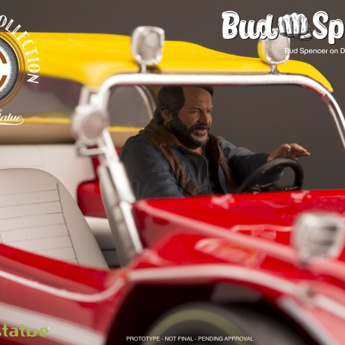 Bud Spencer on Dune Buggy 1:18 riproduzione in resina - 6