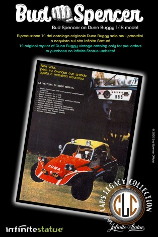 Bud Spencer on Dune Buggy 1:18 riproduzione in resina - 8