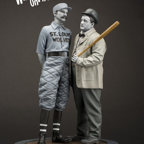"""Statua in resina Limited Edition Abbott & Costello """"Who's on First?"""" - 2"""