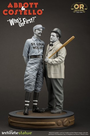 """Abbott & Costello """"Who's on First?""""resin statue - 2"""