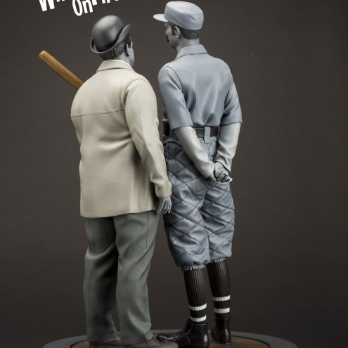 """Statua in resina Limited Edition Abbott & Costello """"Who's on First?"""" - 3"""