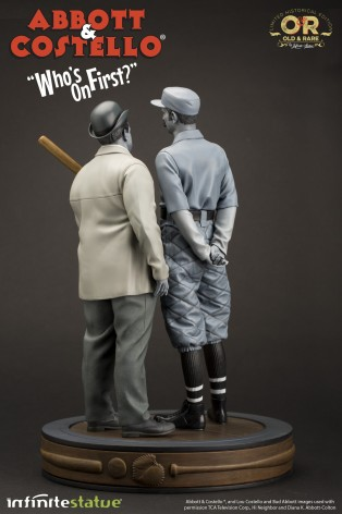 """Abbott & Costello """"Who's on First?""""resin statue - 3"""