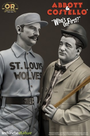 """Abbott & Costello """"Who's on First?""""resin statue - 4"""
