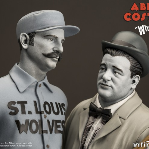 """Statua in resina Limited Edition Abbott & Costello """"Who's on First?"""" - 5"""