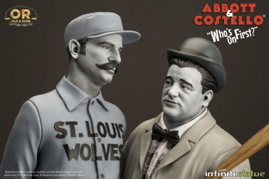 """Abbott & Costello """"Who's on First?""""resin statue - 5"""