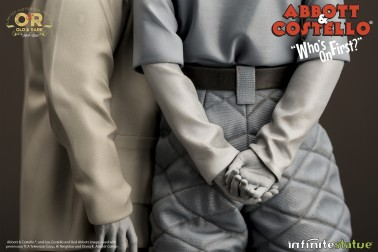 """Abbott & Costello """"Who's on First?""""resin statue - 9"""