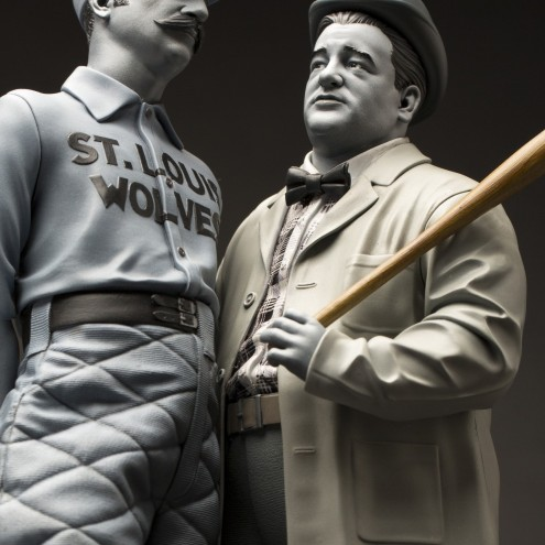 """Abbott & Costello """"Who's on First?""""resin statue - 10"""