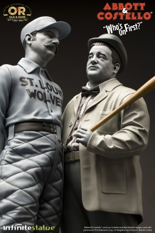 """Statua in resina Limited Edition Abbott & Costello """"Who's on First?"""" - 10"""